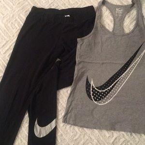 Nike Legging & Tank Set